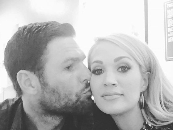 Carrie Underwood Celebrates <i>Cry Pretty</i> Release Party With Husband Mike Fisher