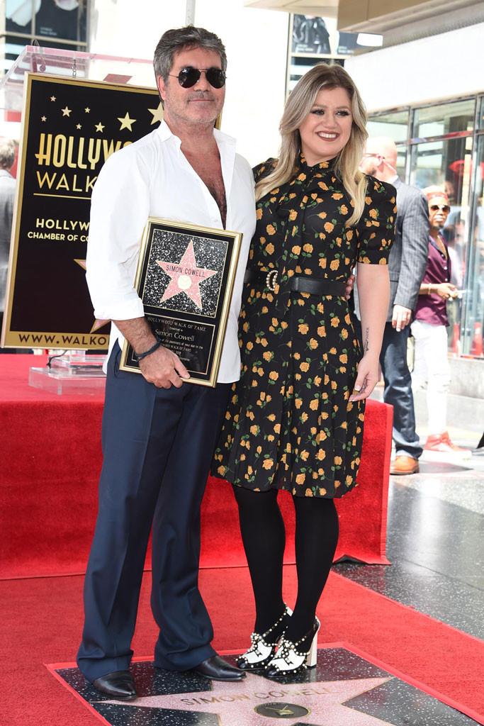 Simon Cowell, Kelly Clarkson