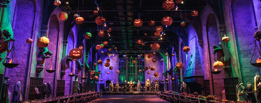 hogwarts halloween dark arts warner bros studio tour london