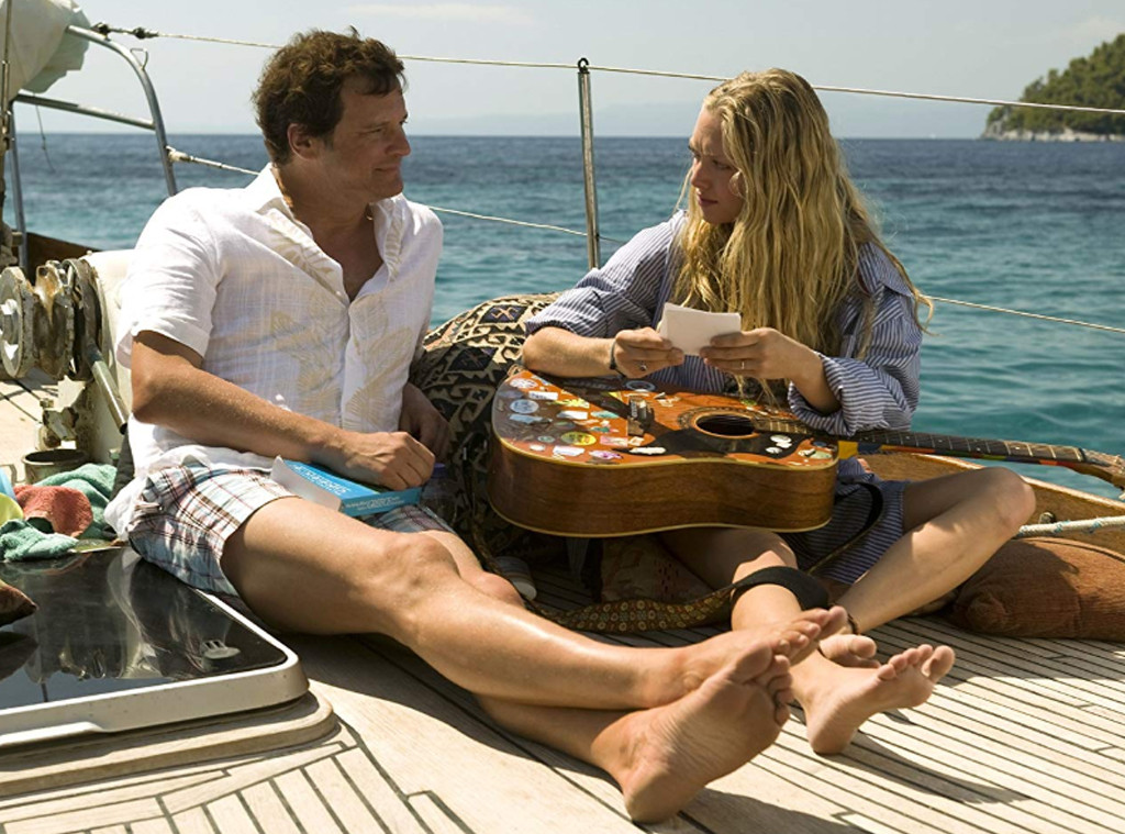 Colin Firth, Amanda Seyfried, Mamma Mia!