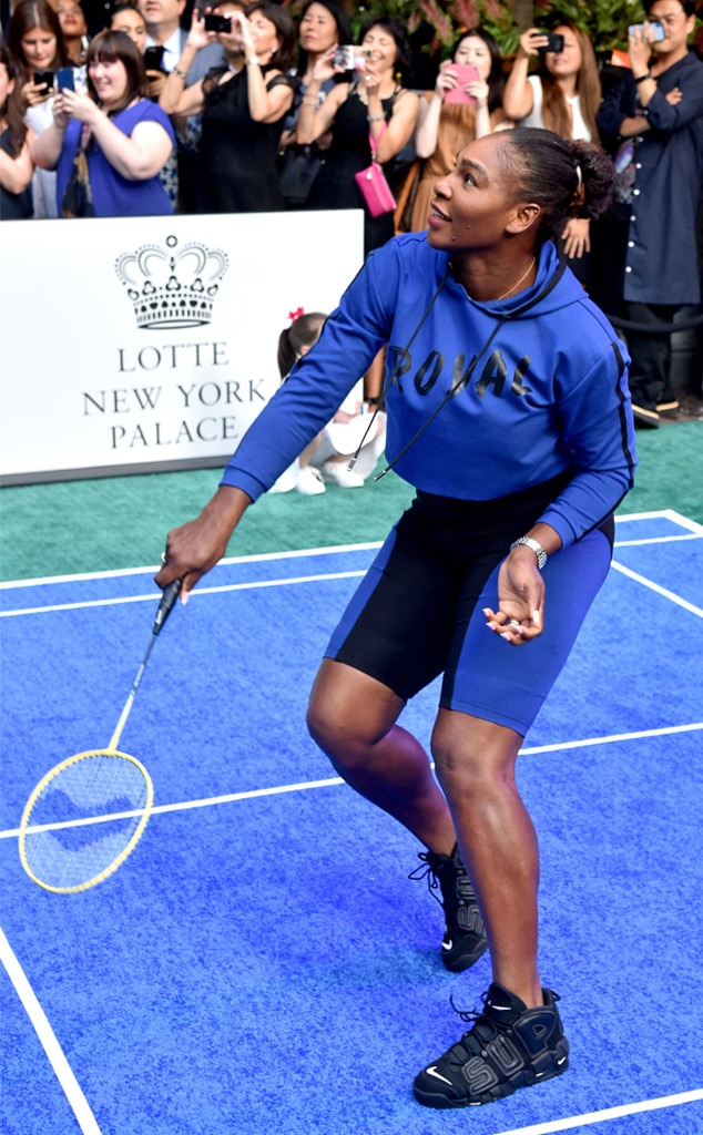 Serena Williams, Palace Invitational Badminton Tournament