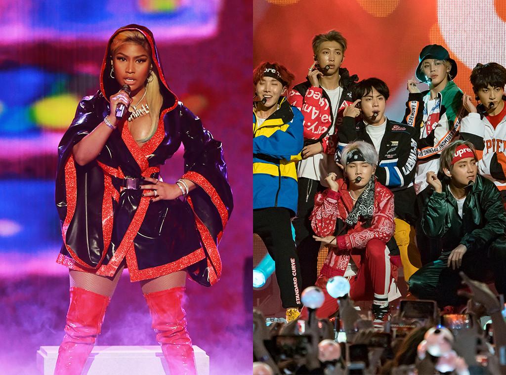 Nicki Minaj, BTS