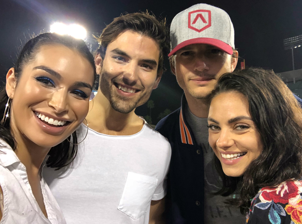 Ashton Kutcher, Mila Kunis, Jared Haibon, Ashley Iaconetti