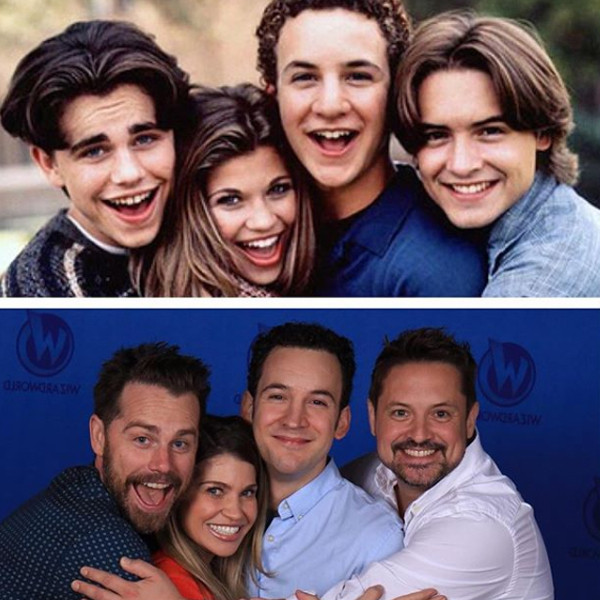 Ben Savage, Danielle Fishel, Rider Strong, Will Friedle, Boy Meets World