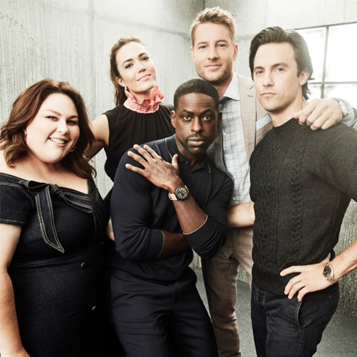 This Is Us >> How The This Is Us Cast Formed Their Extraordinary Bond E