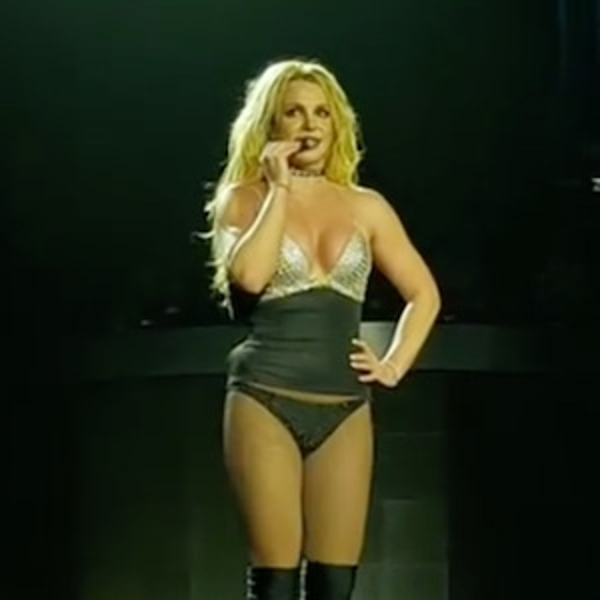 Britney Spears, O2 Arena, London, Instagram