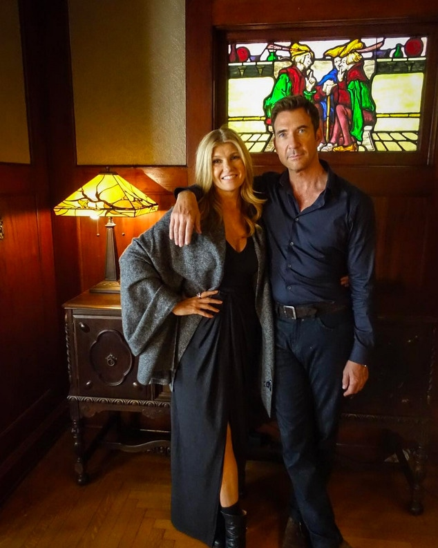 Connie Britton, Dylan McDermott, Instagram