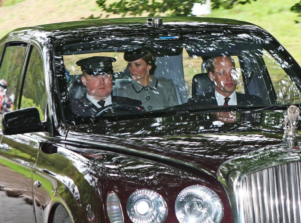 Queen Elizabeth, Kate Middleton, Prince William