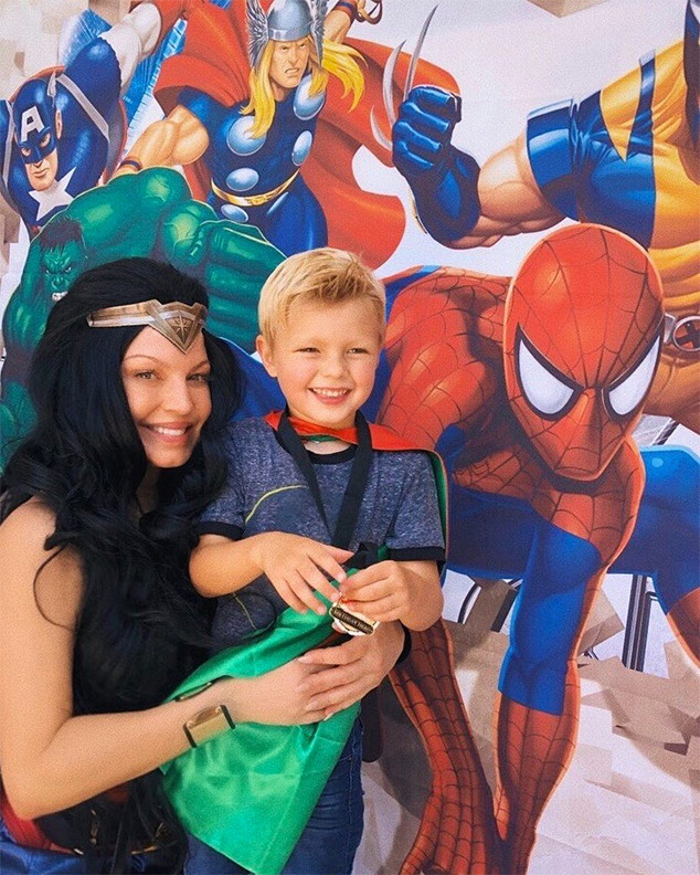 Fergie, Axl, Son, Birthday, Superhero