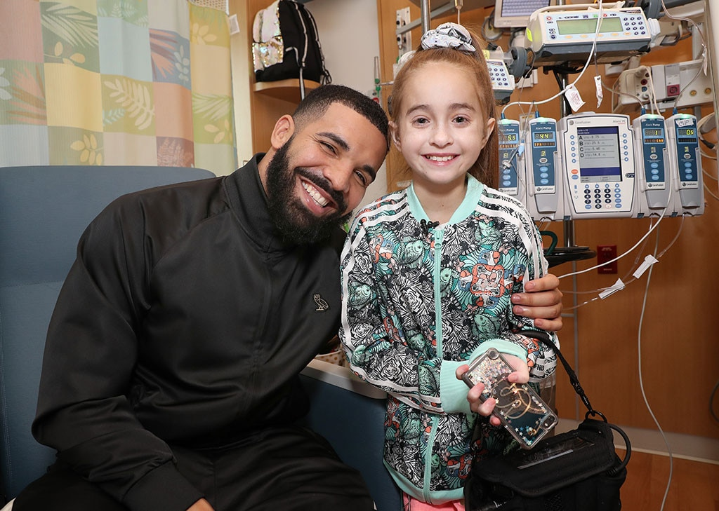Young girl gets a new heart following surprise visit from Drake