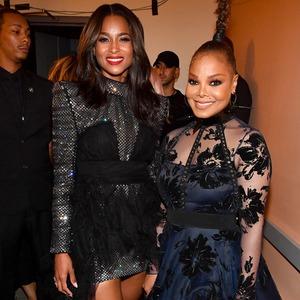 Ciara, Janet Jackson, 2018 Black Girls Rock! Awards