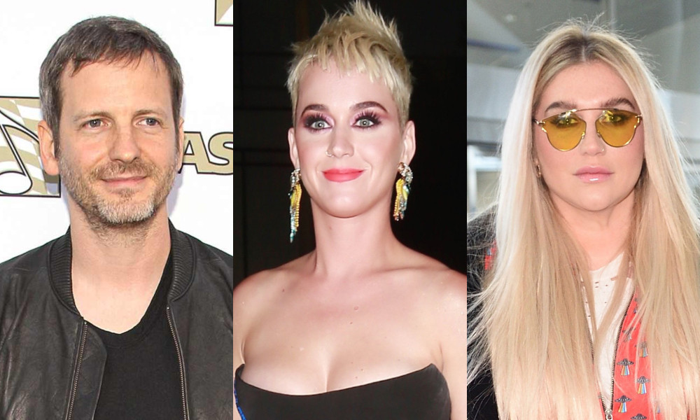 Dr. Luke, Katy Perry, Kesha