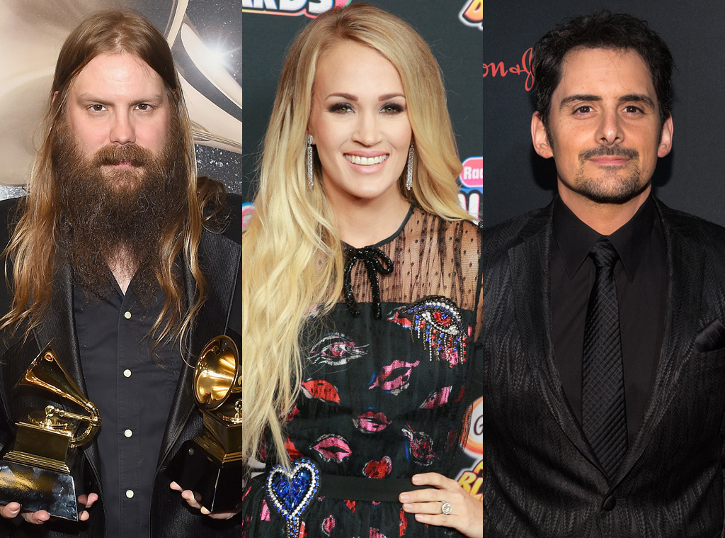 Chris Stapleton, Carrie Underwood, Brad Paisley