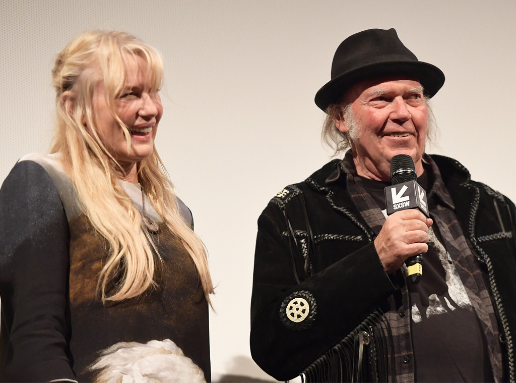 Daryl Hannah, Neil Young