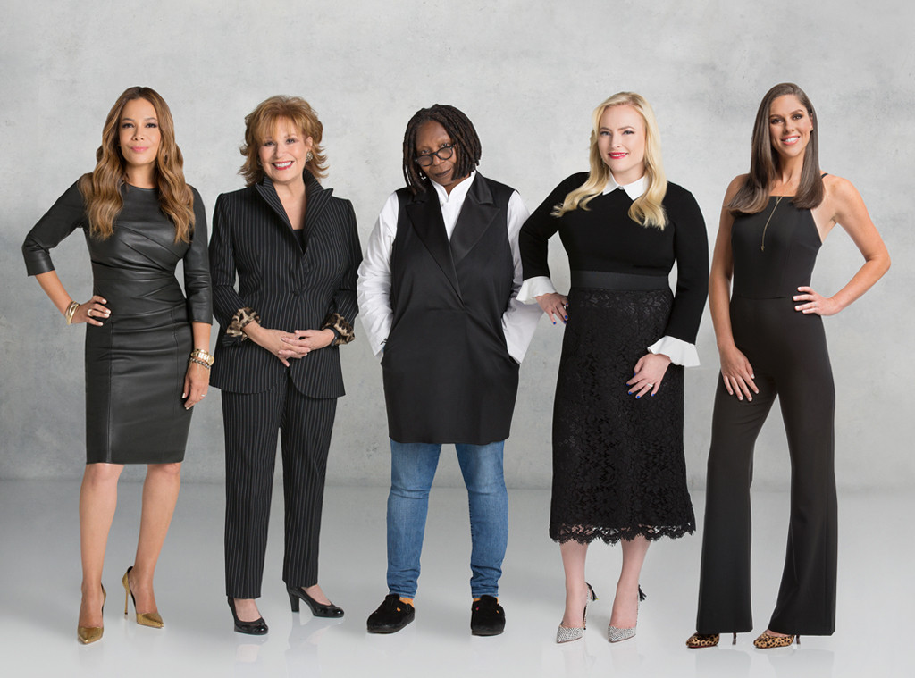 Abby Huntsman, The View, Whoopi Goldberg, Meghan McCain, Joy Behar, Sunny Hostin