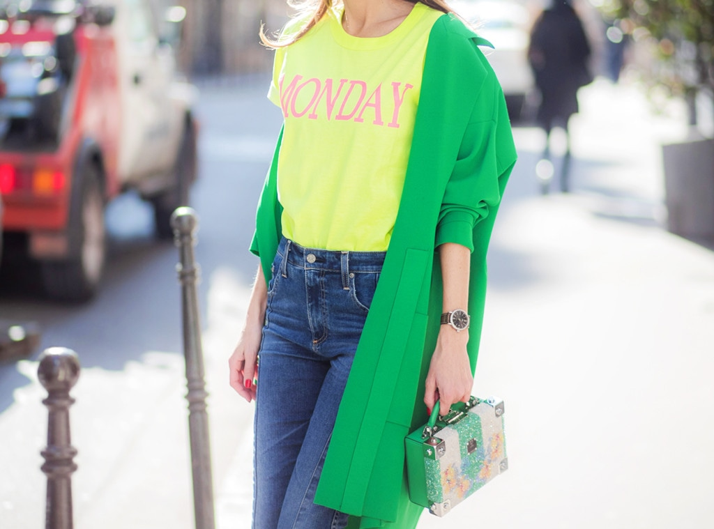 Shopping: Neon Green