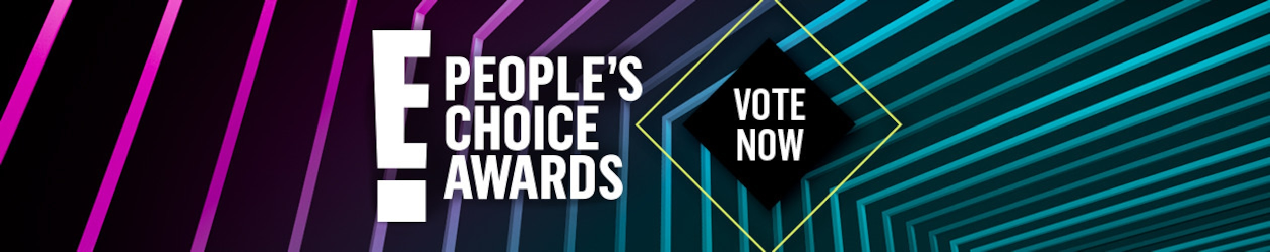 People's Choice Awards Vote Now Tune-In Banner, PCAs