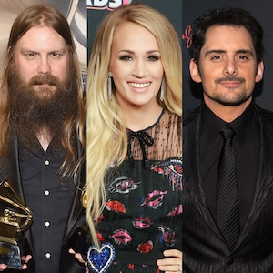 Chris Stapleton, Carrie Underwood, Brad Paisley