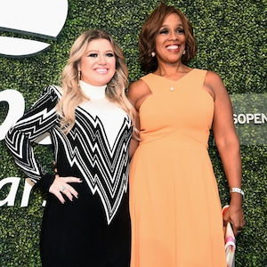 2018 US Open Opening Night Gala, Kelly Clarkson, Gale King