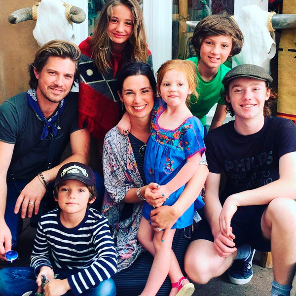 taylor hanson s wife natalie gives birth to baby no 6 e news