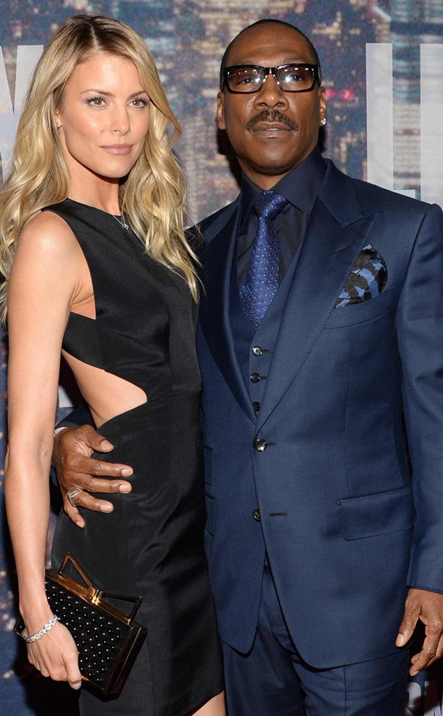 Eddie Murphy, Paige Butcher, SNL 40th Anniversary Celebration