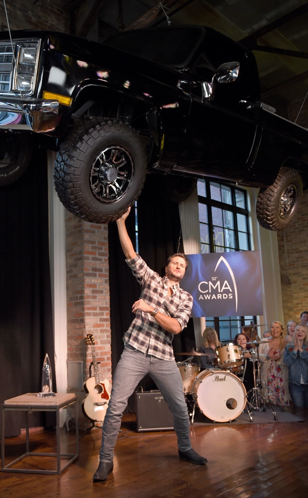 Luke Bryan, 2018 CMA Awards Nominations Announcement
