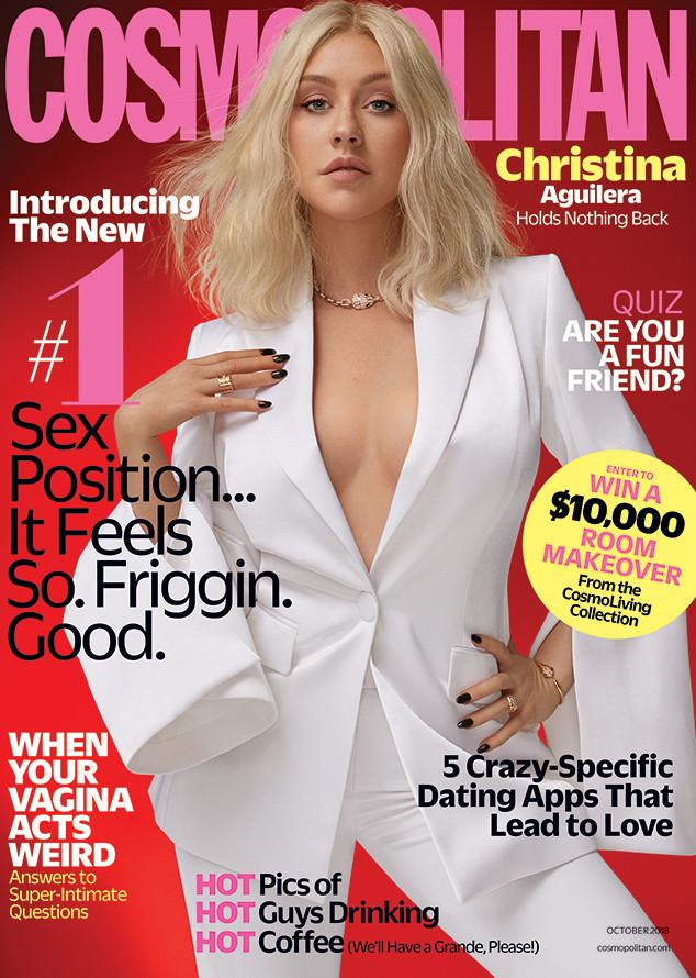 Christina Aguilera, Cosmopolitan