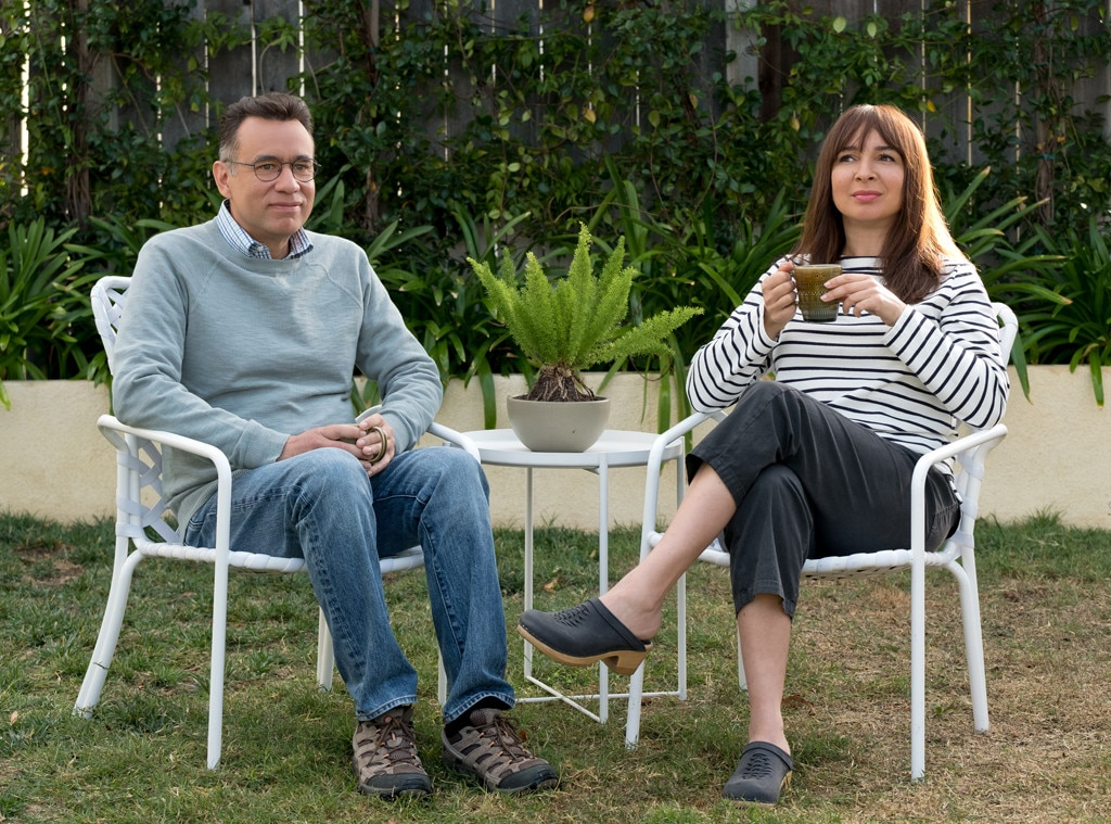 For the longtime married couple... - Forever . Starring  Maya Rudolph  and  Fred Armisen , this comedy from veterans of  Master of None ,  30 Rock  and  Parks and Recreation  will make you think about life, specifically your life and the relationships you have, while making you laugh.
