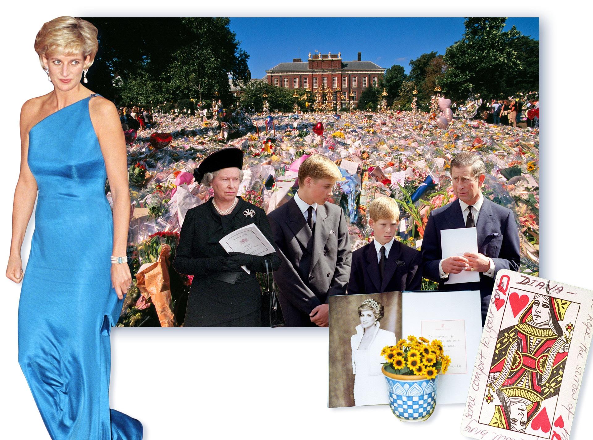 Royal Family's Reaction to Princess Diana's Death
