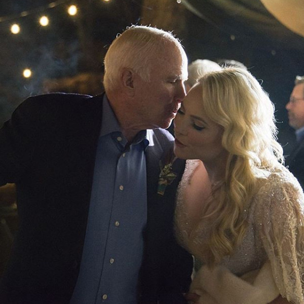 John Mccain Latest News Photos And Videos: Meghan McCain Cries During John McCain's Arizona Service