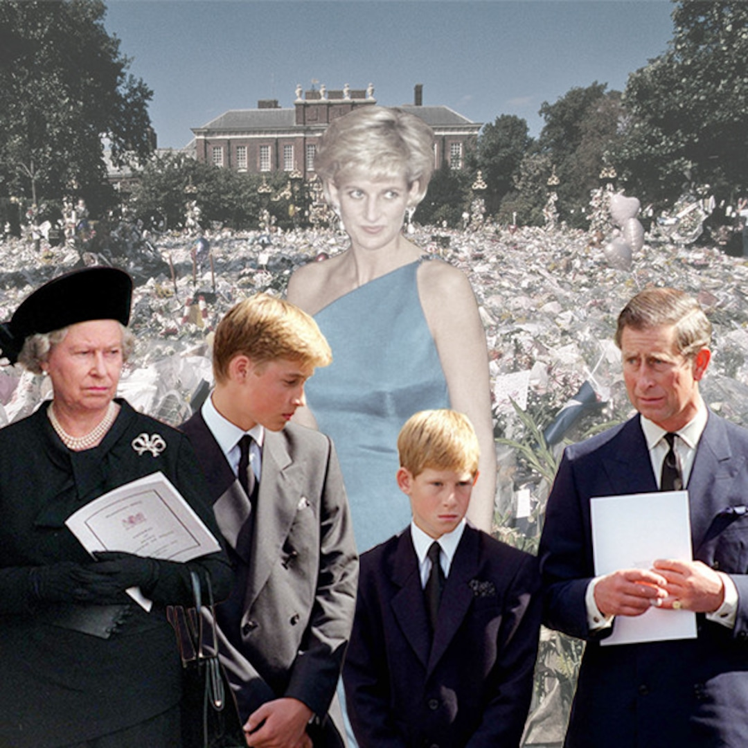 the truth about the royal family s reaction to princess diana s death e online reaction to princess diana s death