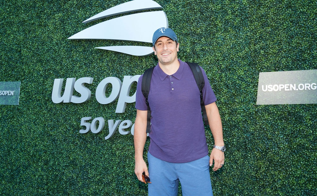 Jason Biggs -  The  American Pie  actor arrives at the U.S. Open on Wednesday, Aug. 29.