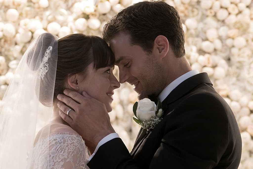Dakota Johnson, Jamie Dornan, Fifty Shades Freed
