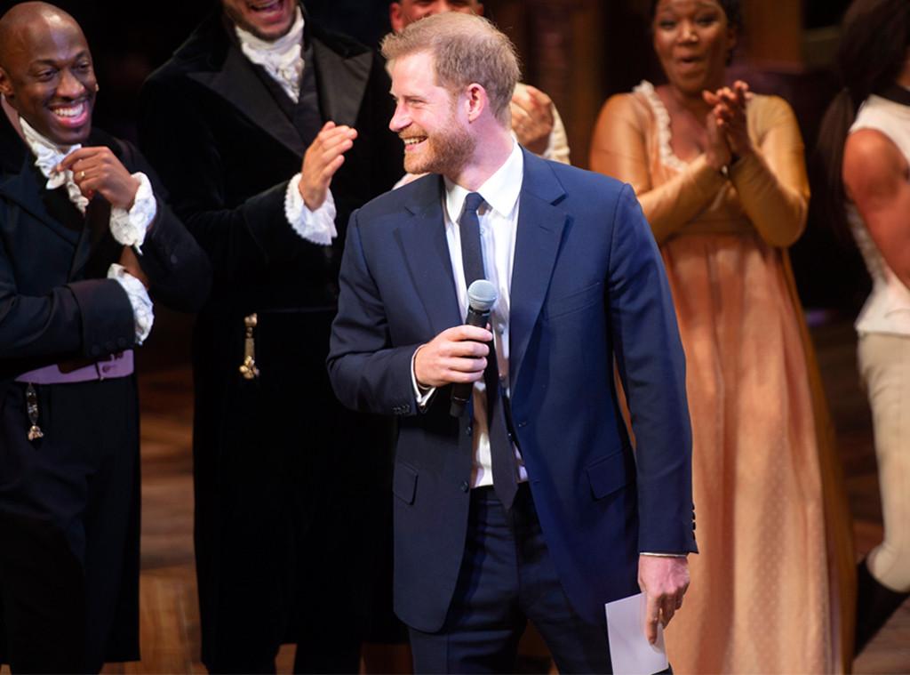 Prince Harry, Hamilton