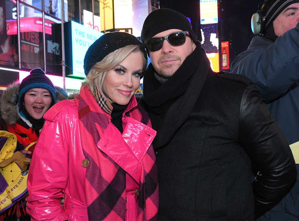 DONNIE WAHLBERG, JENNY MCCARTHY, New Years 2017