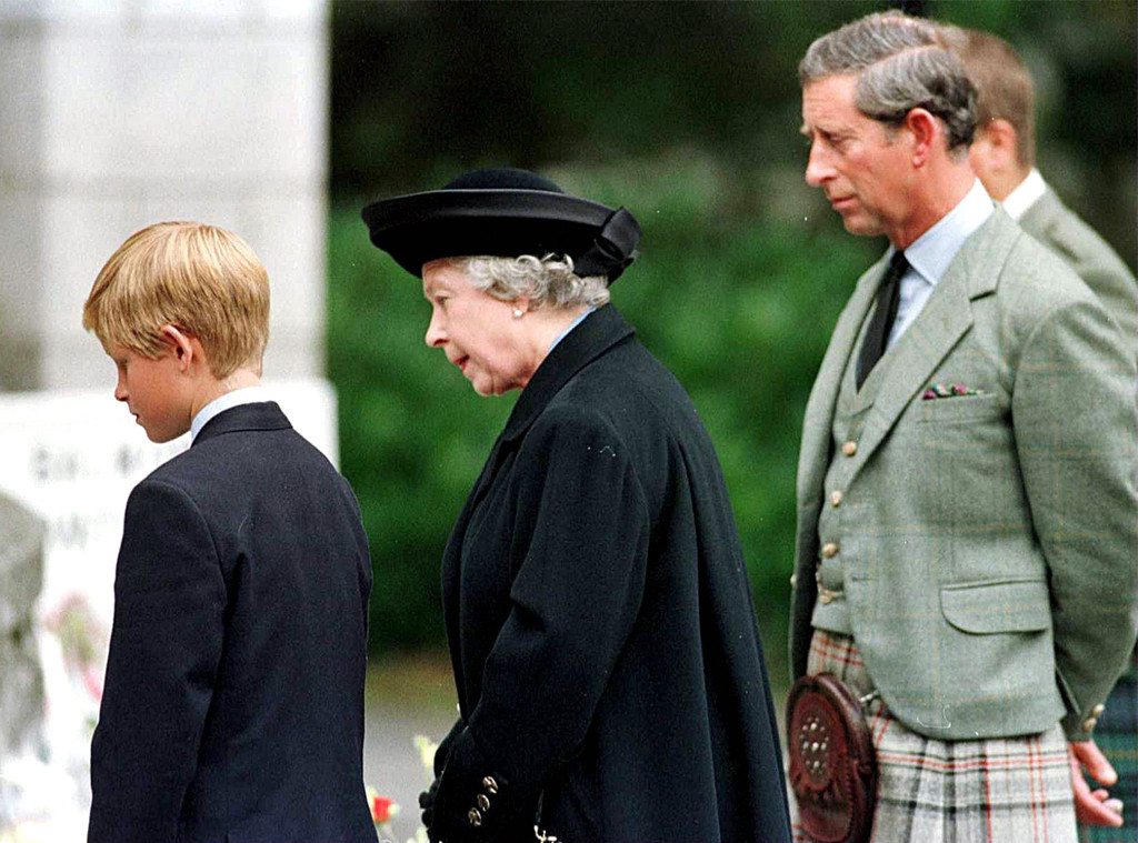 Prince Harry, Queen Elizabeth II, Prince Charles