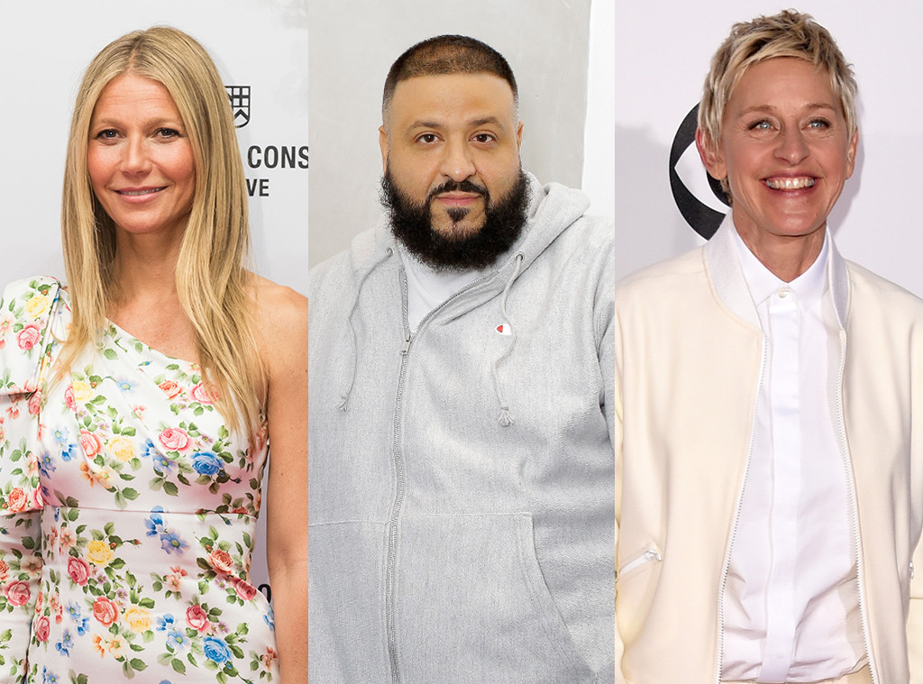 Celebrity Furniture Lines, Gwyneth Paltorw, DJ Khaled, Ellen Degeneres