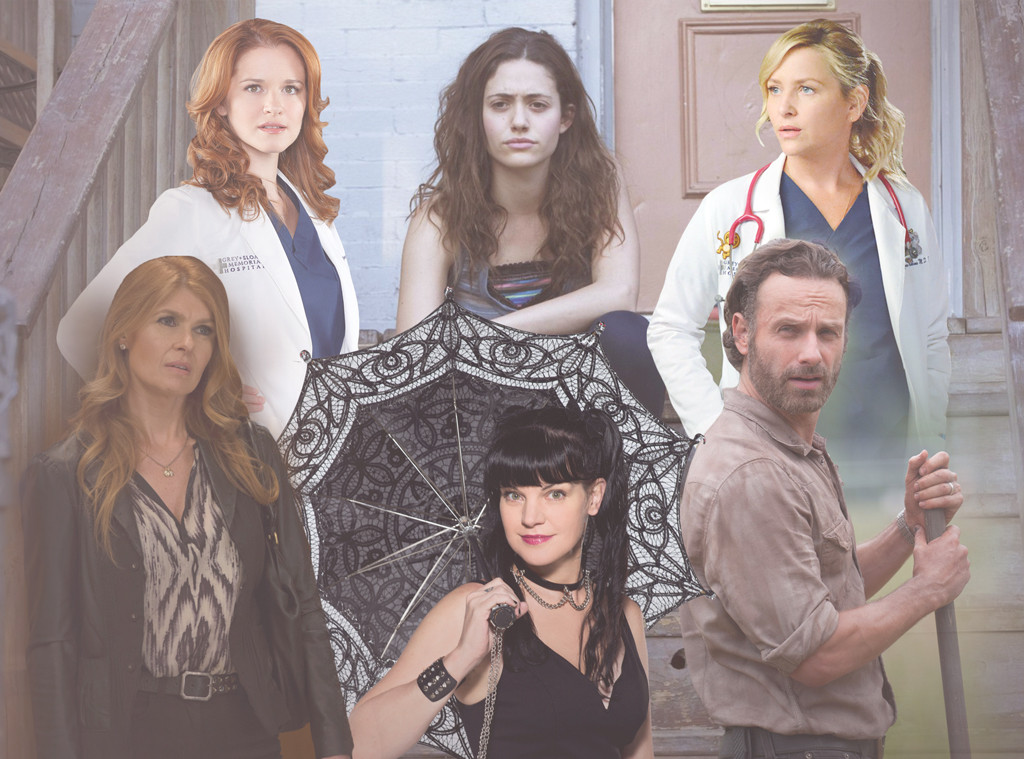 TV Stars Leaving Shows, Emmy Rossum, Andrew Lincoln, Connie Britton, Jessica Capshaw, Sarah Drew, Pauley Perrette