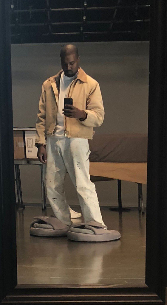 Kanye West Gets The Last Laugh In Small Sandals Debate E