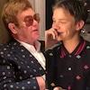Elton John, Romeo Beckham, Instagram