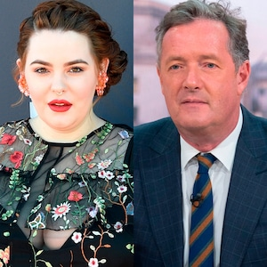Tess Holliday, Piers Morgan