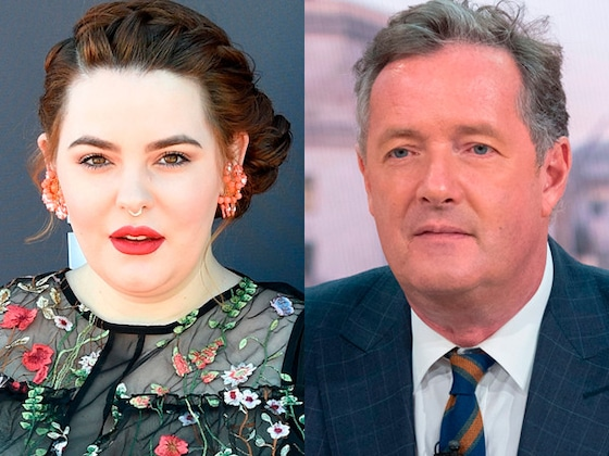 Piers Morgan Body Shames Tess Holliday in Open Letter: Revisit His Controversial Comments Toward Women