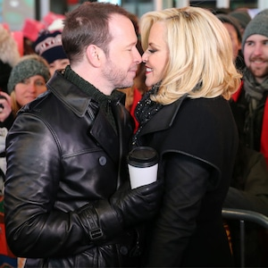 Donnie Wahlberg, Jenny McCarthy, New Years Eve 2015
