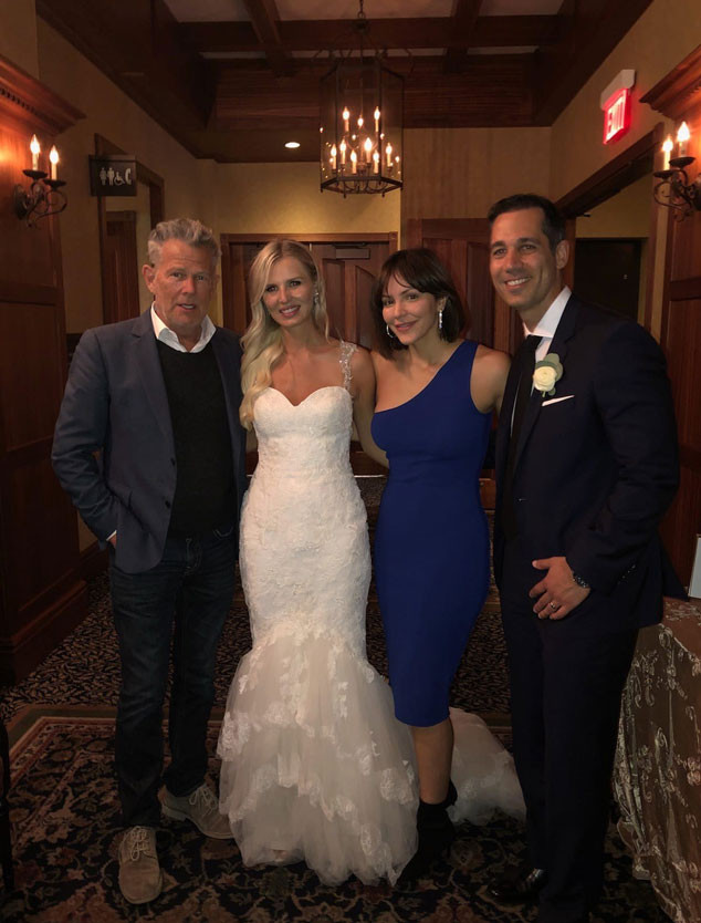 Katharine Mcphee And David Foster Crash A Wedding All The