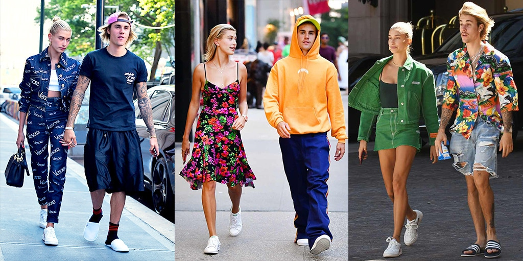 Justin Bieber, Hailey Baldwin, Fashion