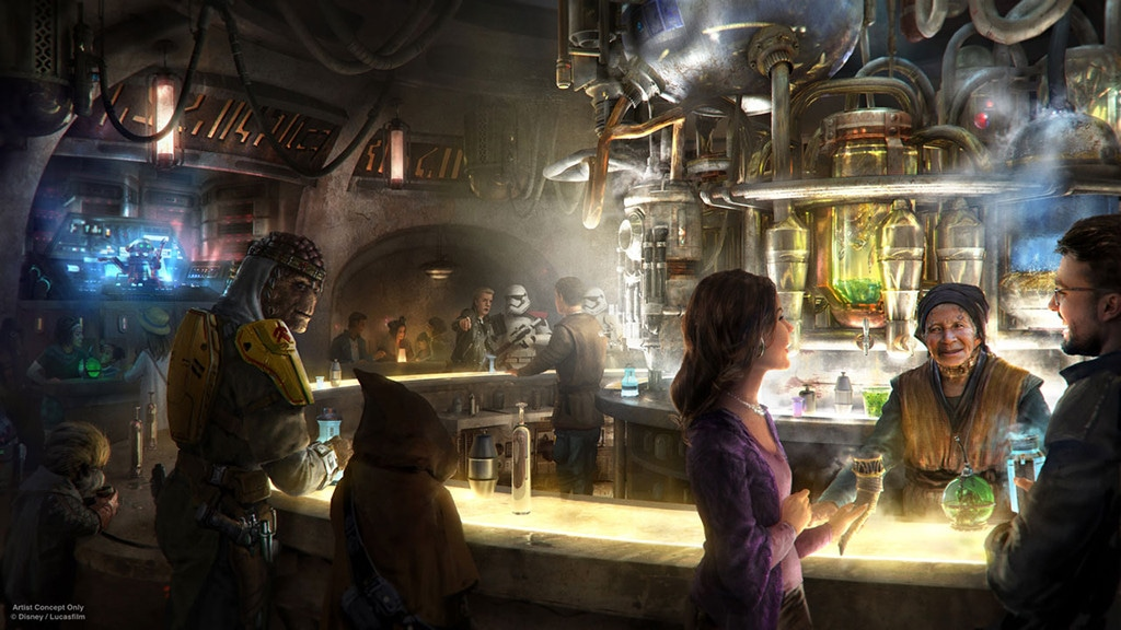 Star Wars: Galaxy's Edge, Disneyland