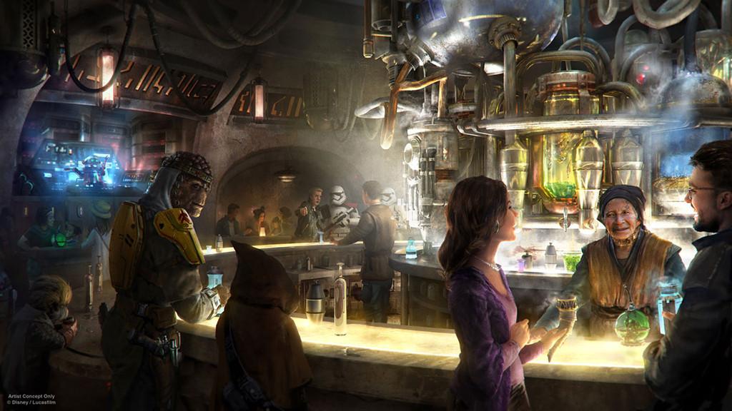 Star Wars: Galaxy's Edge, Disneyland