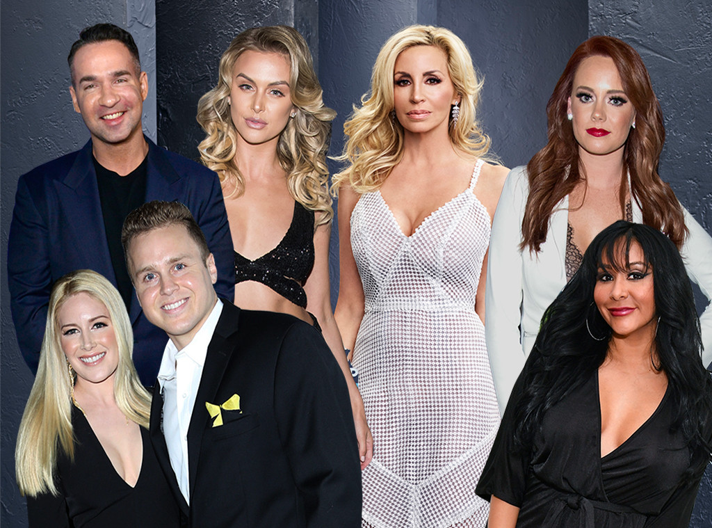 Reality TV Rebounds, Camille Grammer, Kathryn Dennis, Snooki, The Situation, Lala Kent, Heidi and Spencer