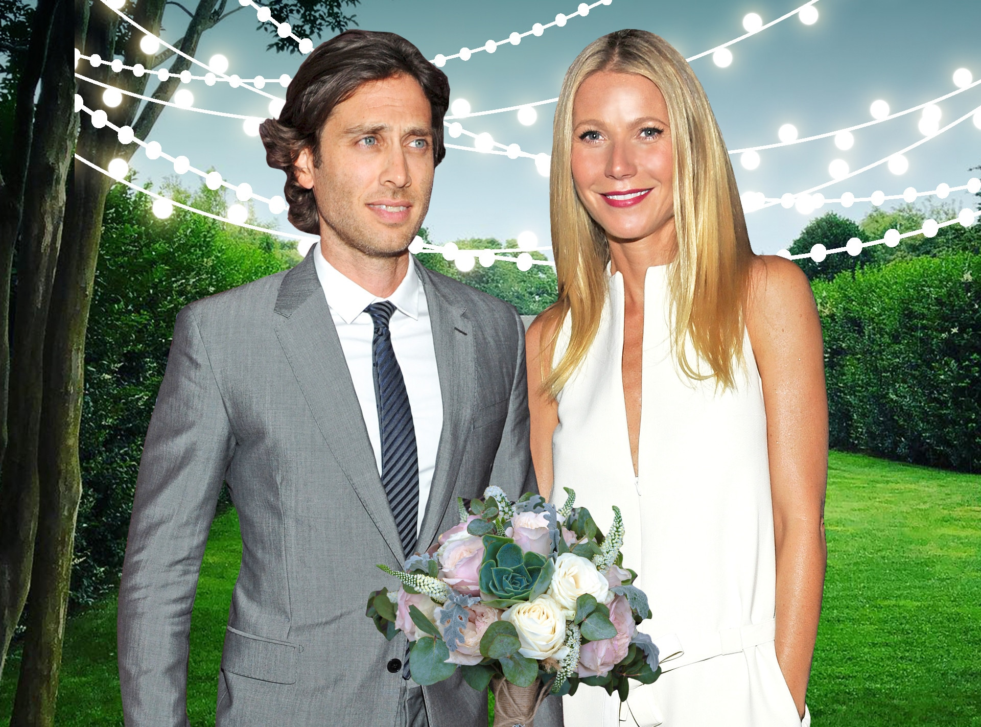 Gwyneth Paltrow, Brad Falchuk, Wedding