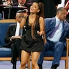 Ariana Grande, Aretha Franklin Funeral